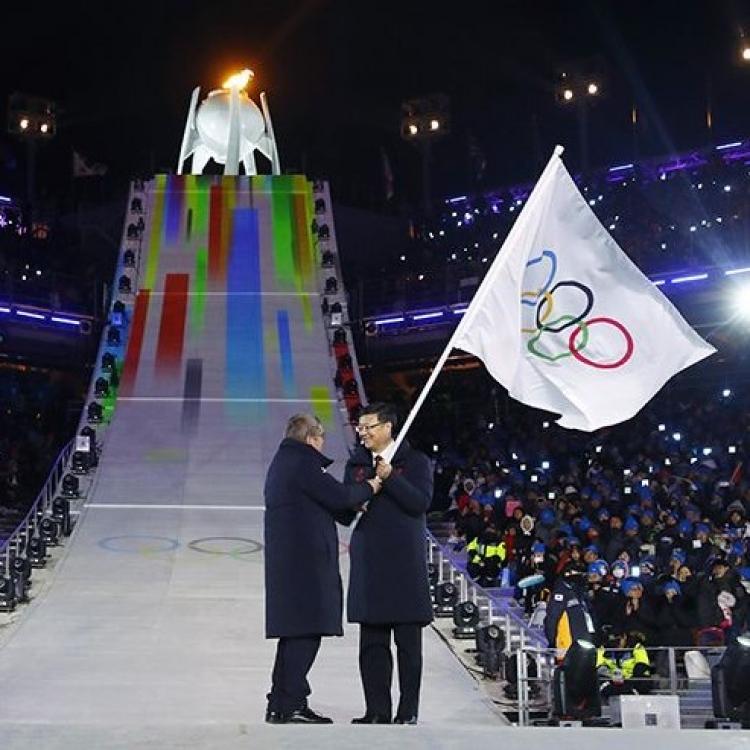 冬奧會正式進入北京時間