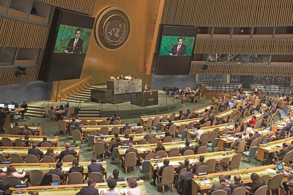 聯合國通過譴責以色列