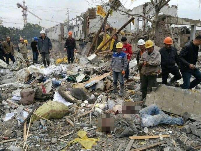 房屋倒塌 傳兩死30傷