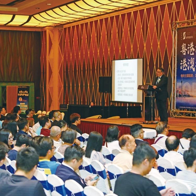 沈大師:未來三至五年 機遇會在中國