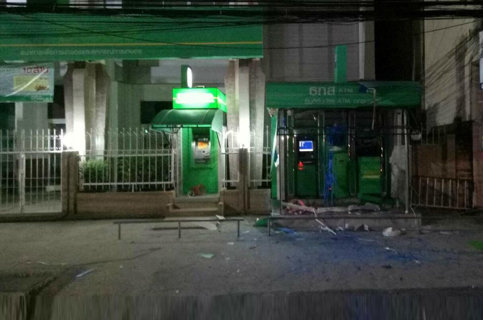 泰南四府連環炸彈襲擊至少三傷