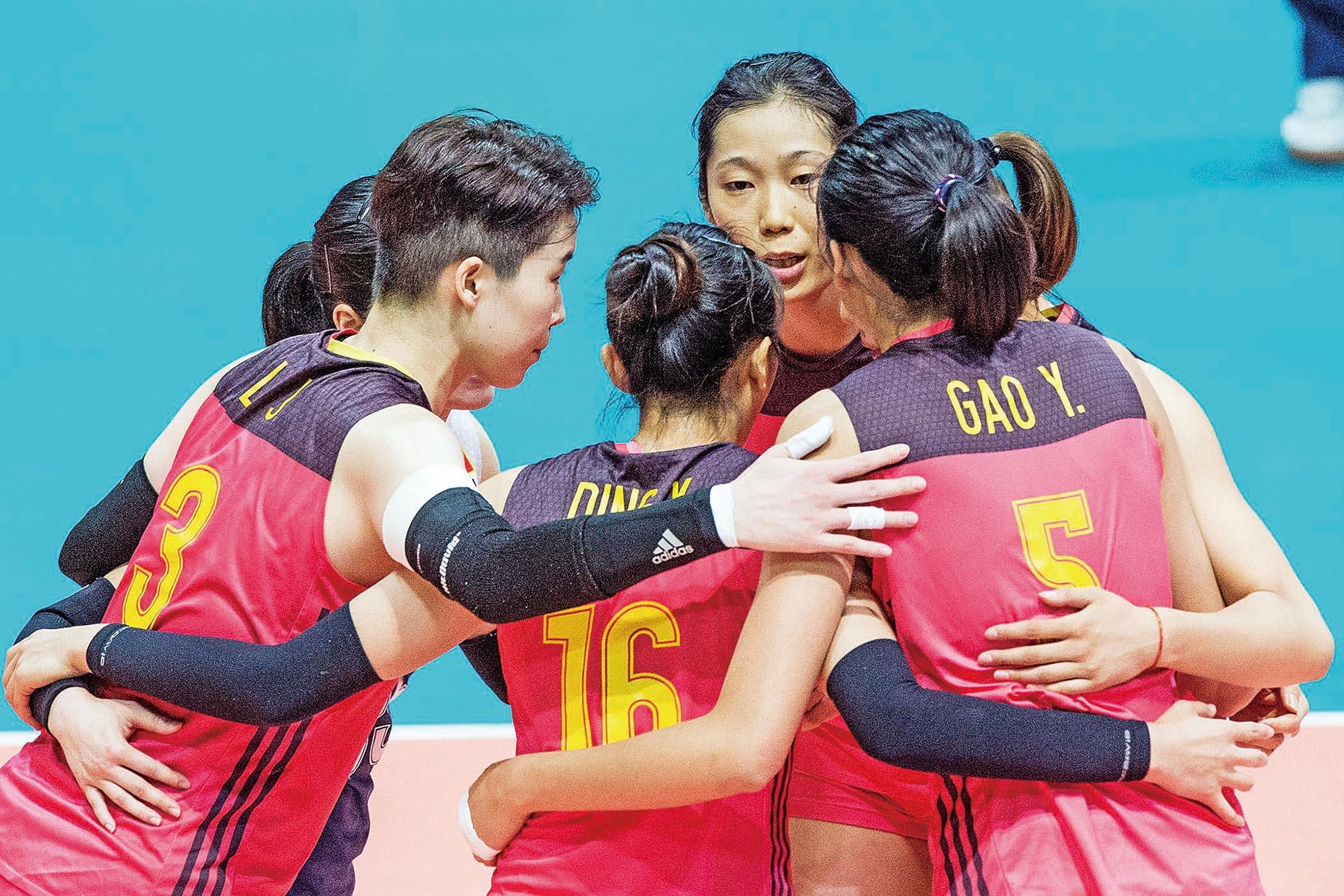 中國女排總決賽列奪標次熱