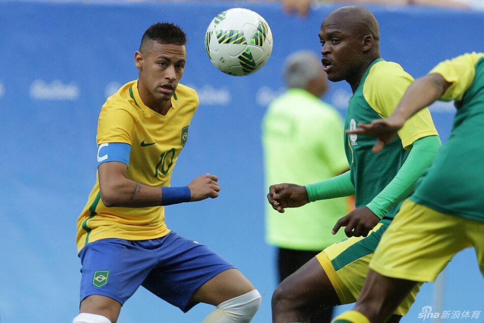 巴西男足奧運首戰失威