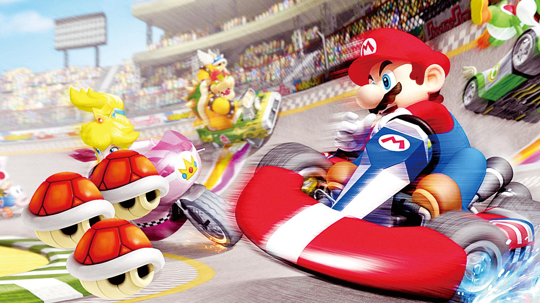 Mario進駐大阪環影