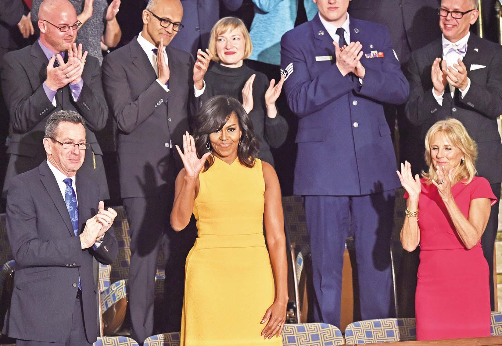 奧巴馬發表國情咨文