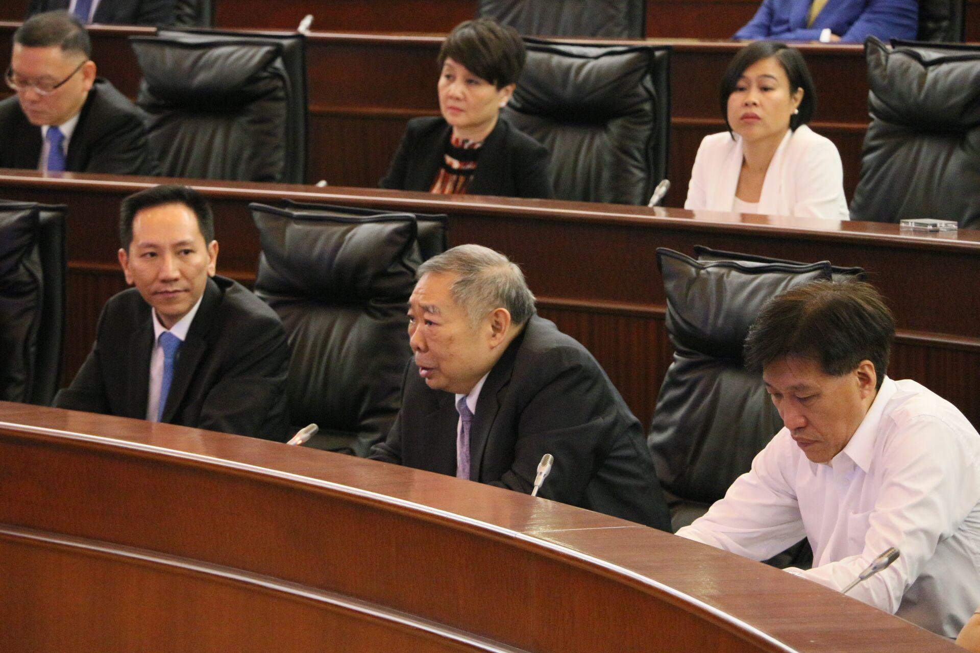 崔世昌當選第六屆立法會副主席