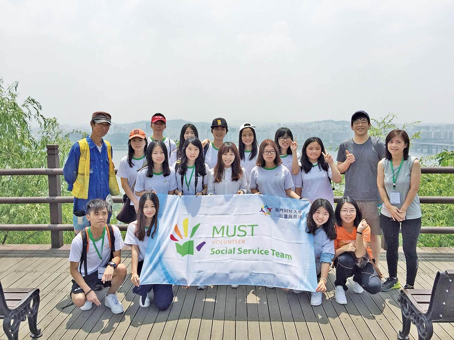赴韓考察環保義工項目