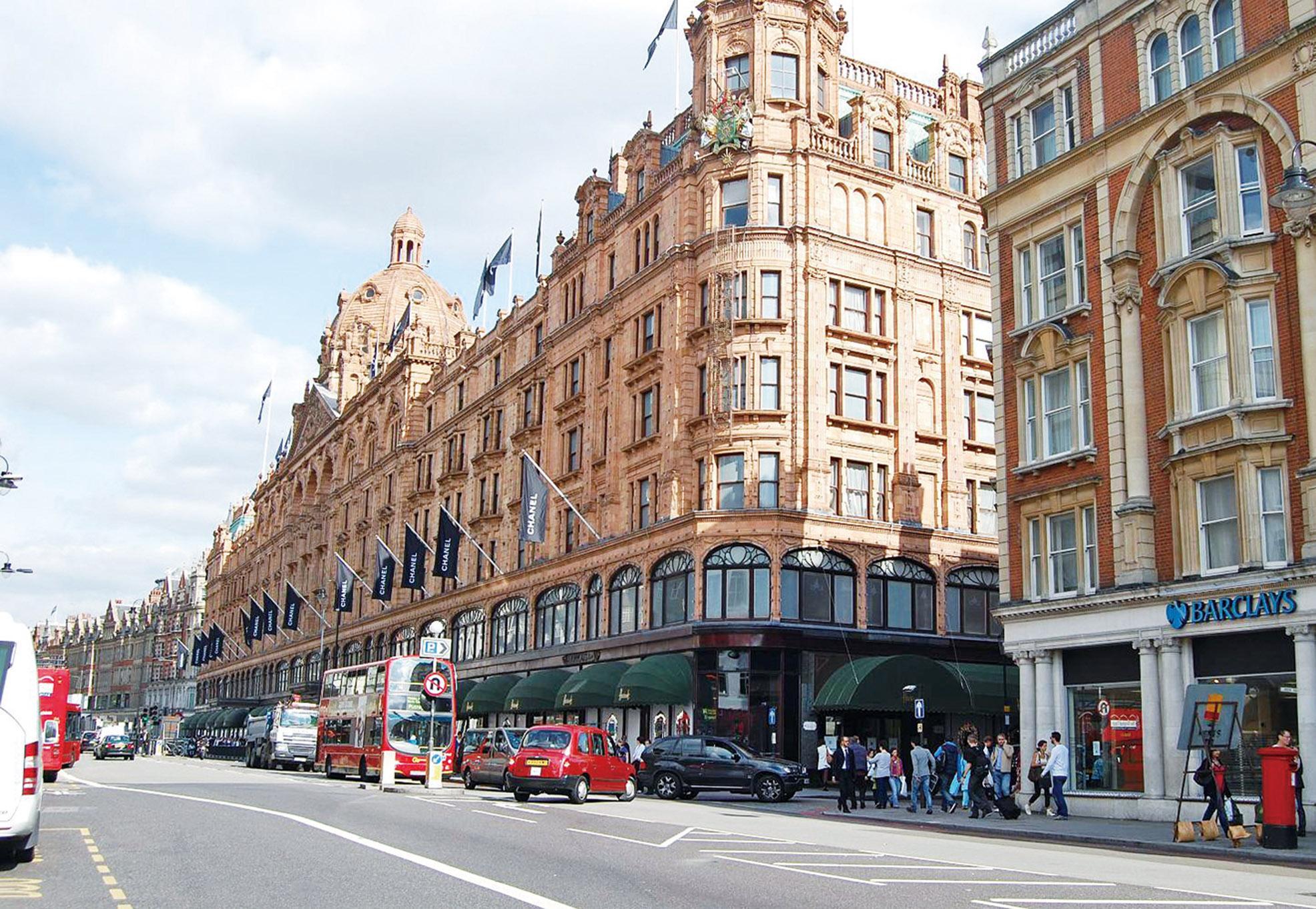 倫敦市中心樓價大跌