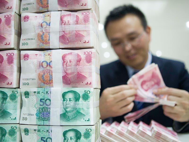 人民幣自兩月低位回升