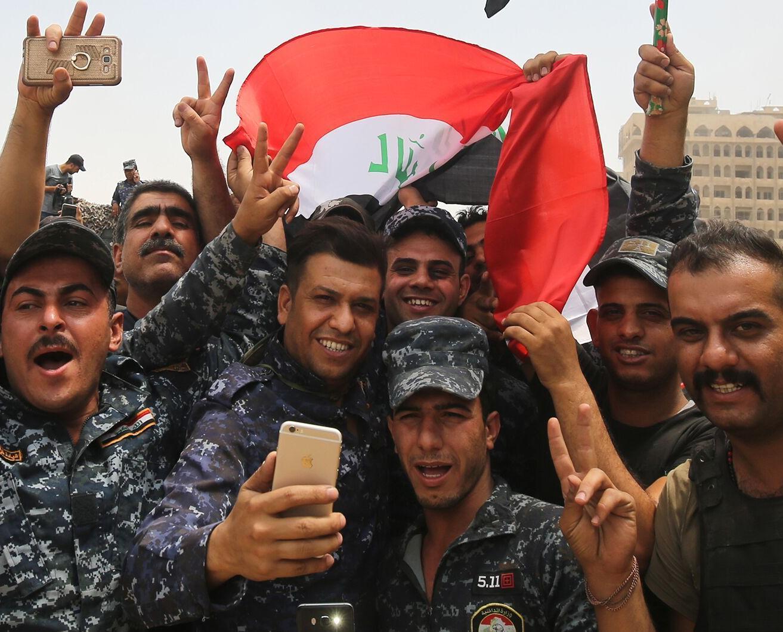 伊拉克宣布全面收復摩蘇爾