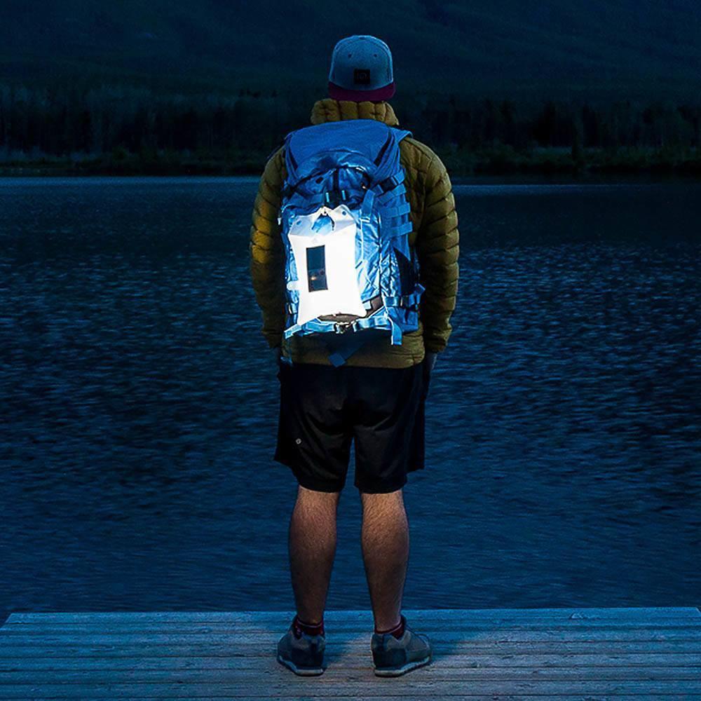 充氣式太陽能LED燈便攜又環保
