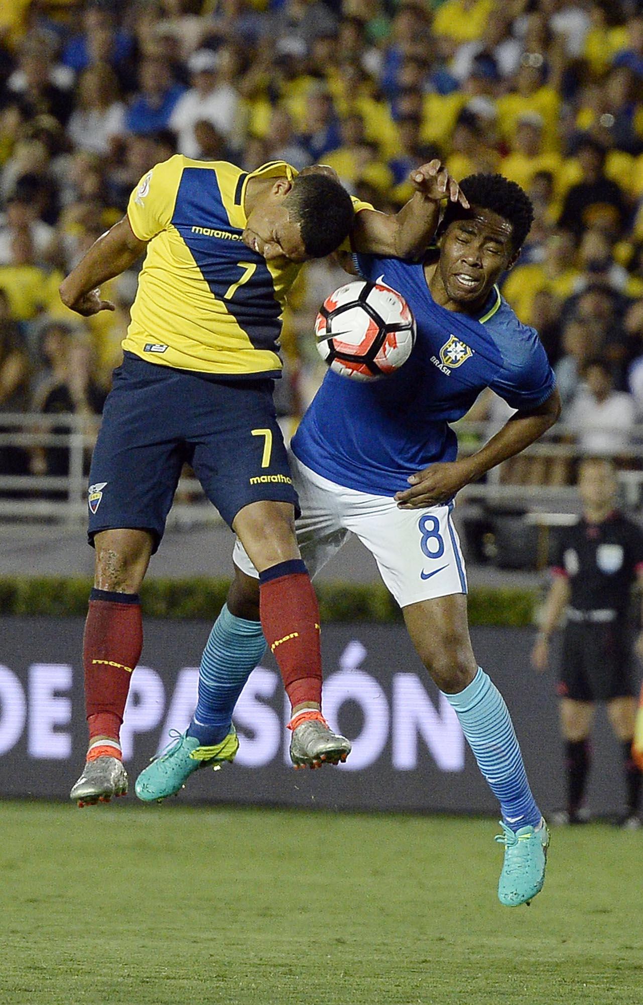 巴西美洲盃和厄瓜多爾