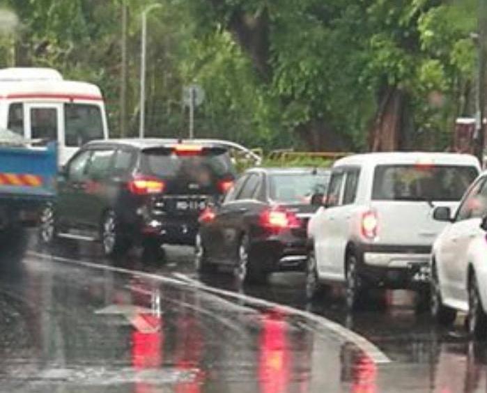 治安警呼籲駕駛者注意車速安全