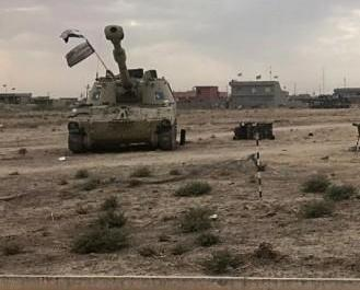 伊拉克軍進駐基爾庫克省