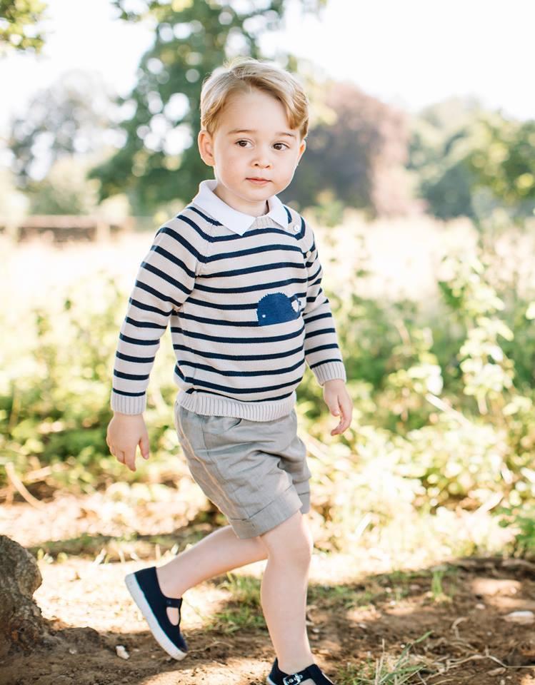 喬治小王子三歲生日