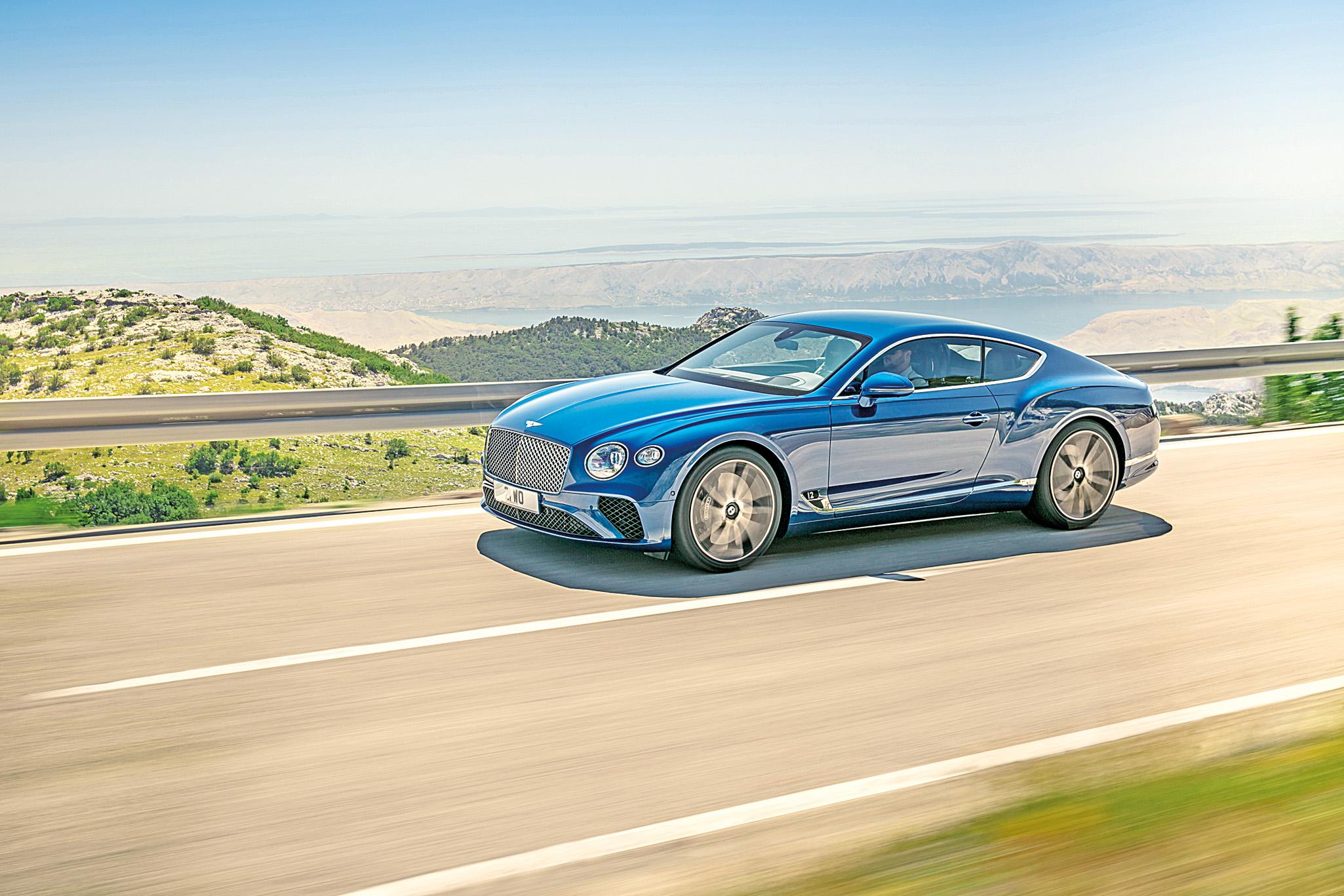 賓利發布全新歐陸GT