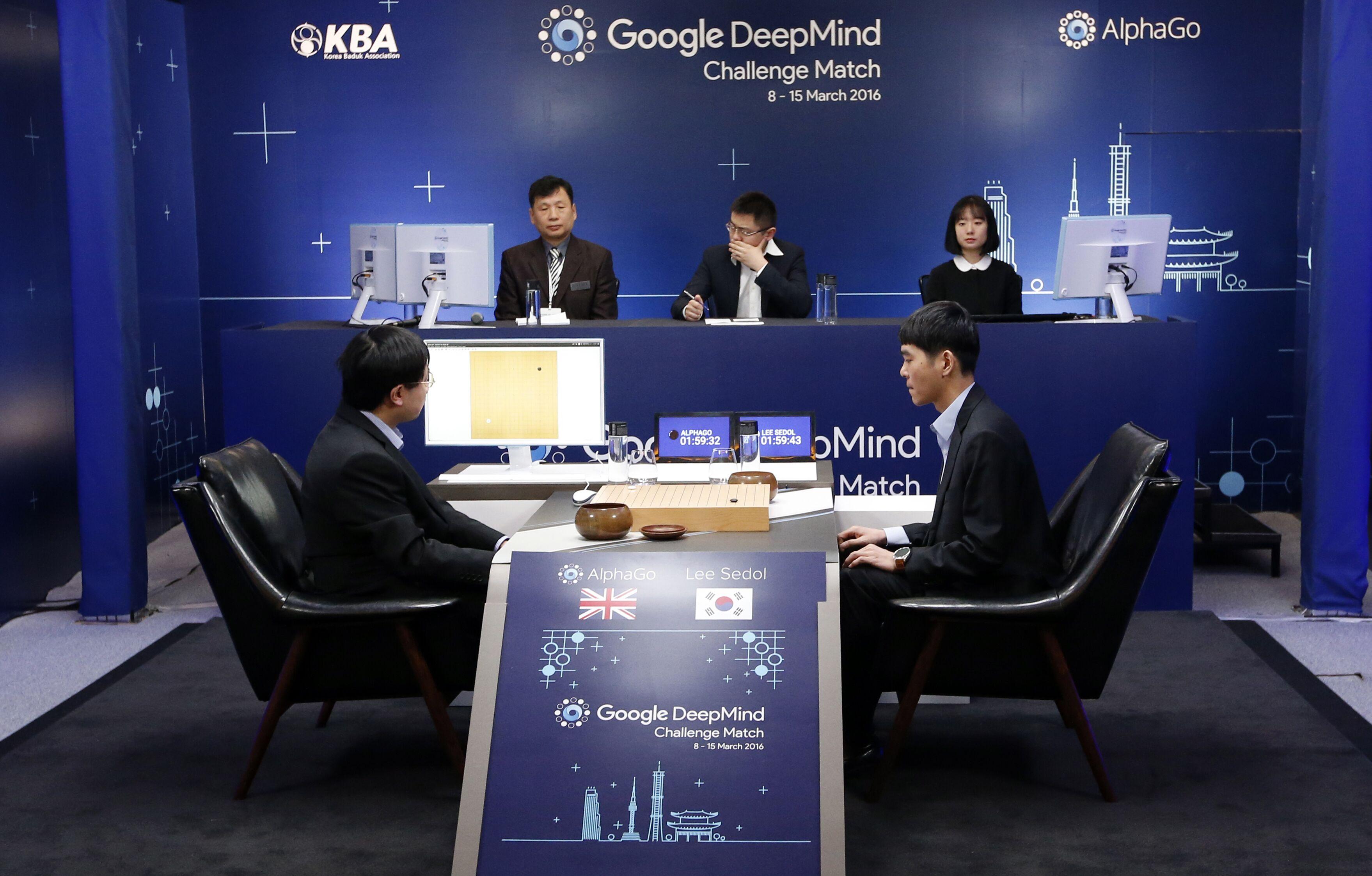 AlphaGo再贏韓國棋王李世石