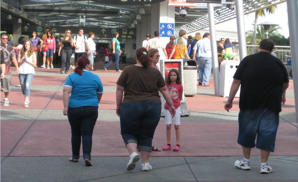 五州分三人有一人肥胖