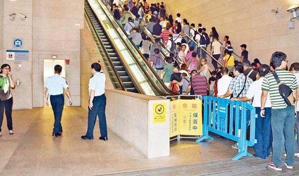 扶手電梯事故涉不當使用
