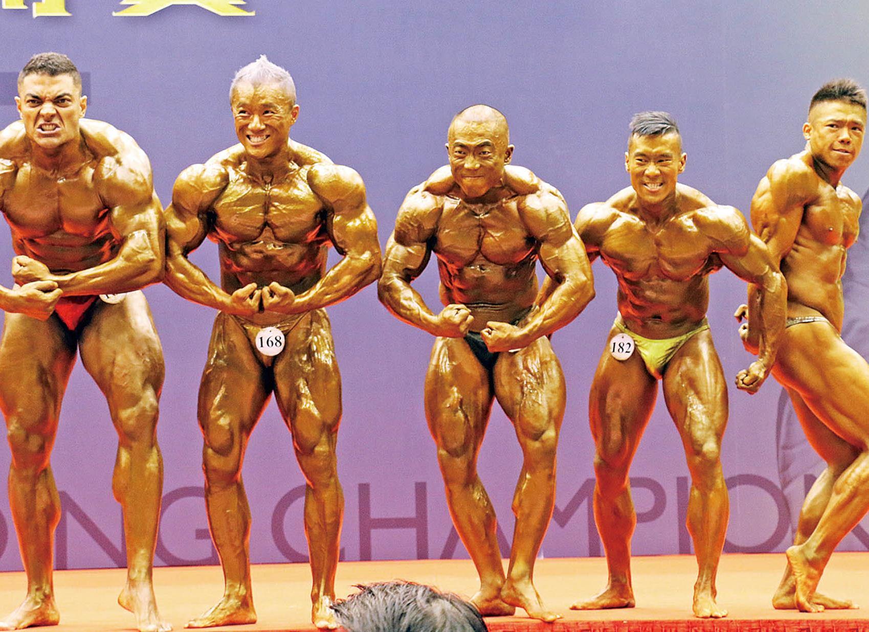 健美先生邱頌華奪五冠