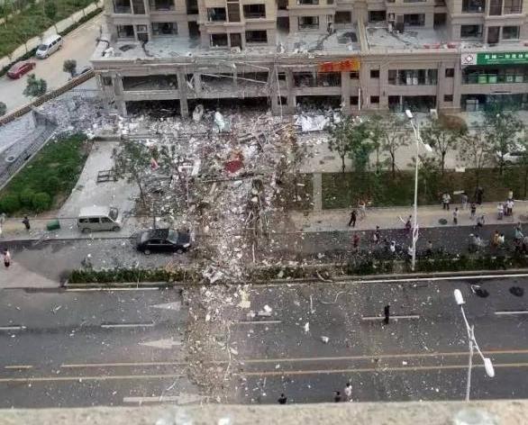 濟南酒樓氣體爆炸八傷