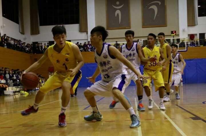 學界男籃粵華坐四強尾班車