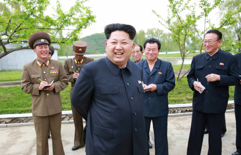 金正恩宣布可射氫彈