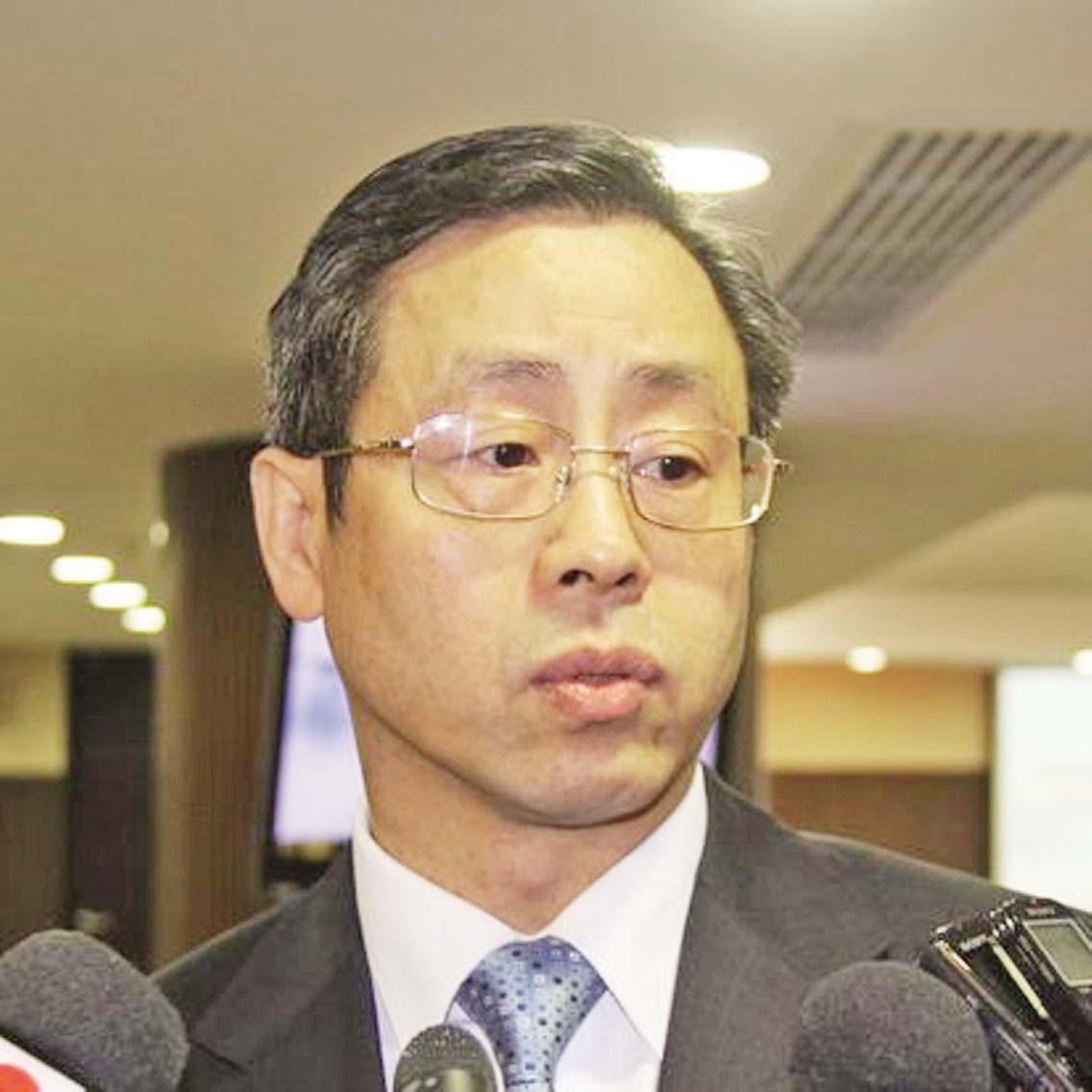 消防局局長馬耀榮近期退休