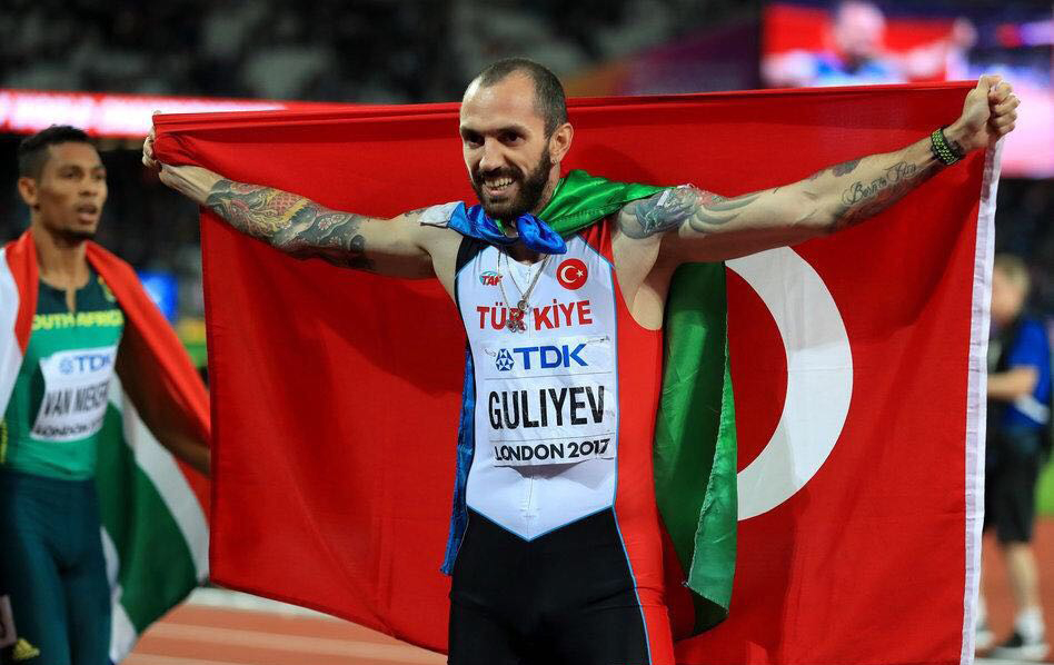 古利耶夫200米稱王
