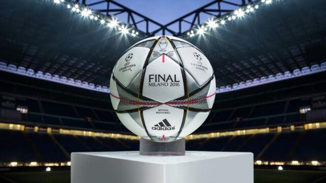 歐聯決賽專用球充滿米蘭風味
