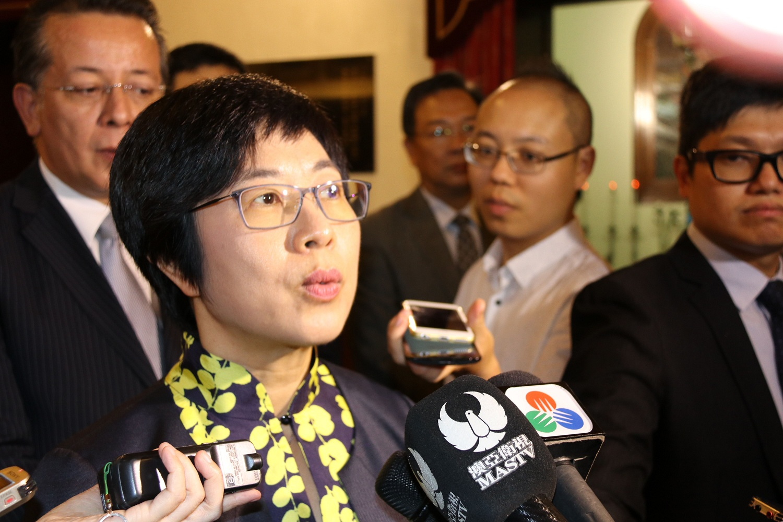 羅志堅就任民署管委會副主席