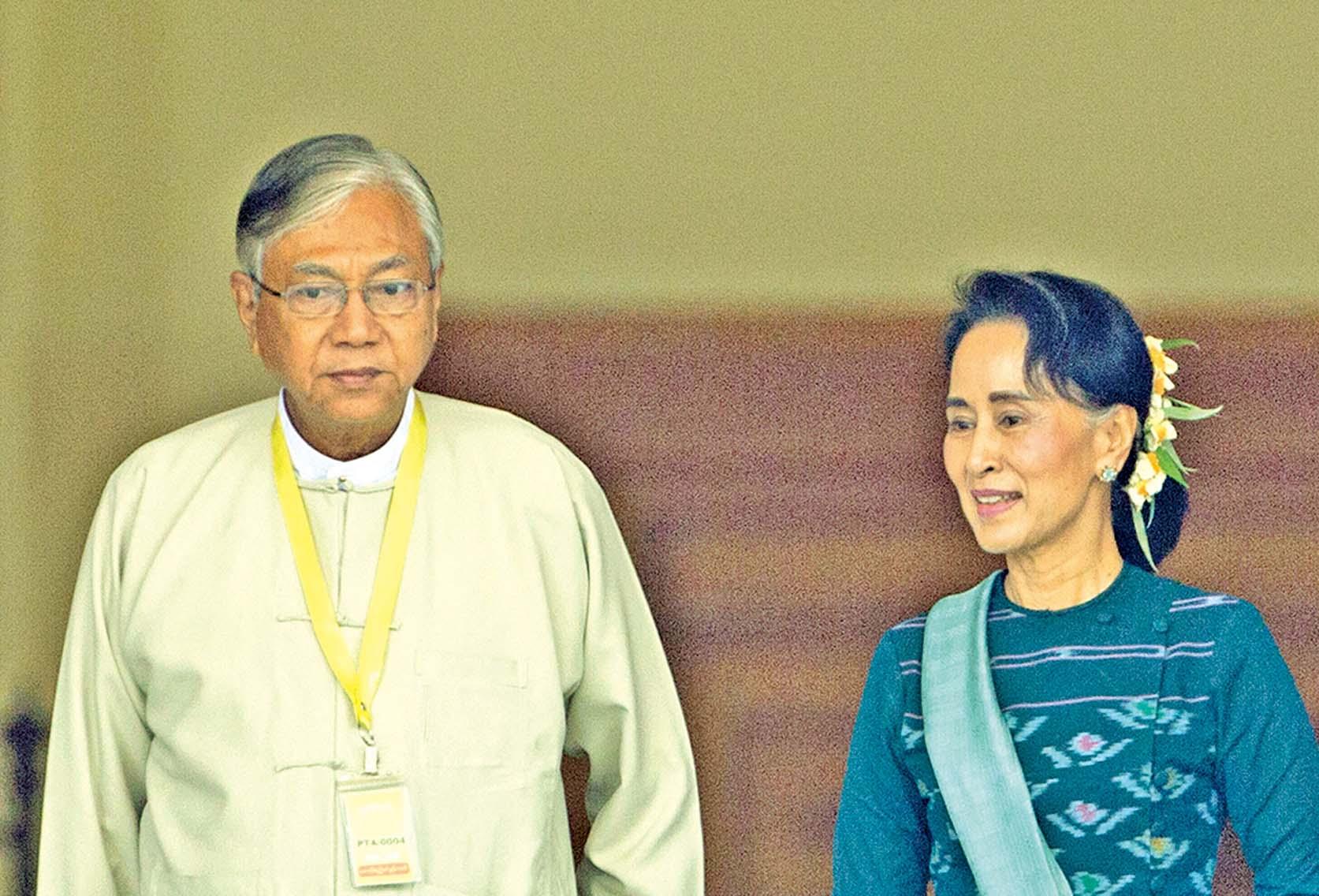 緬甸進入新時代