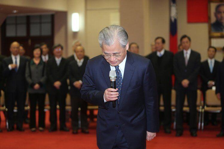 毛治國內閣總辭 張善政暫代