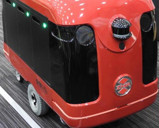 日本成功研發送貨機械人