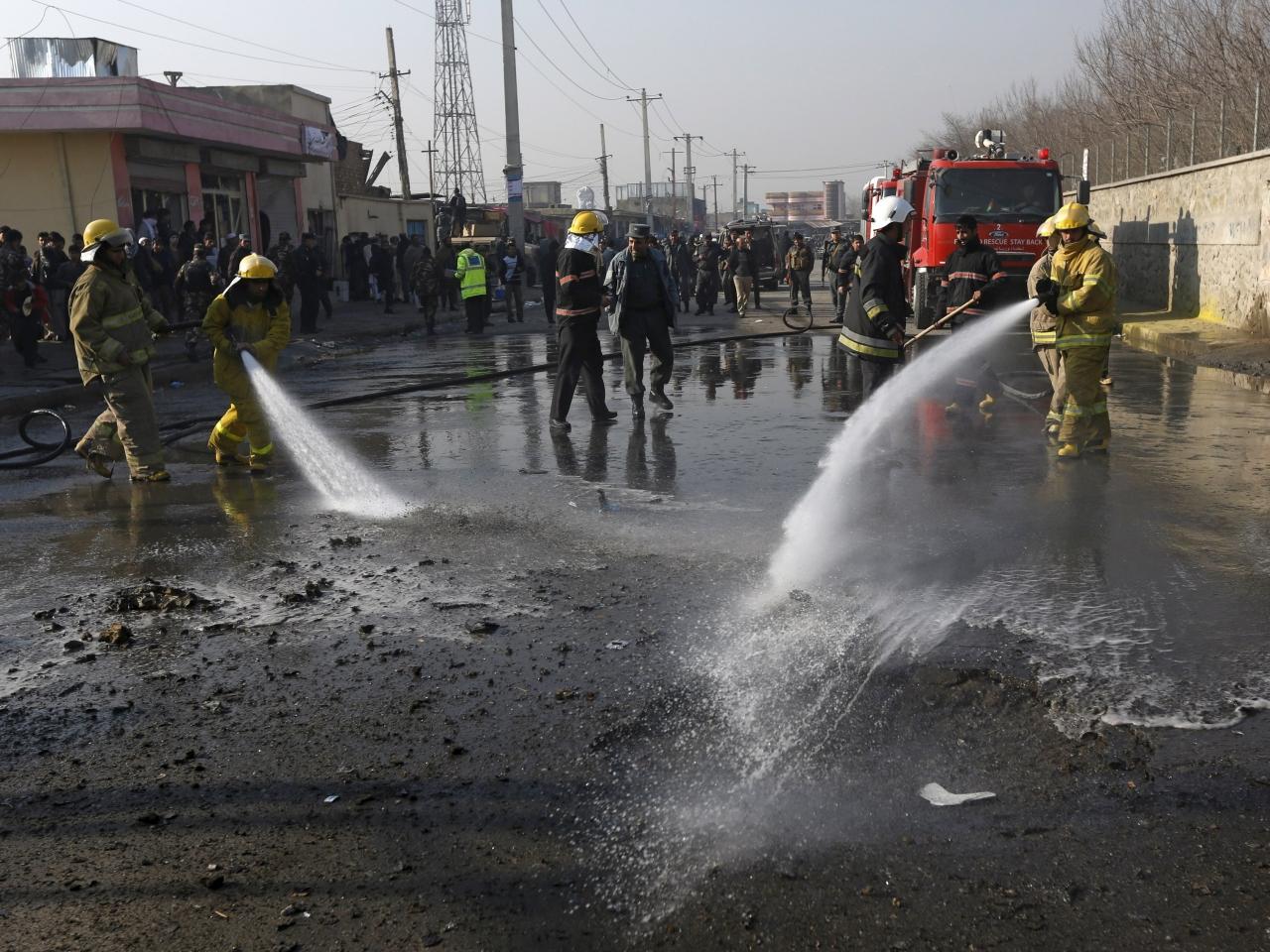 塔利班襲北約車隊一死多傷