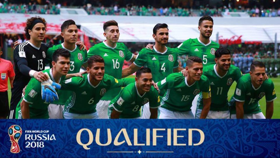 墨西哥晉身世盃決賽周