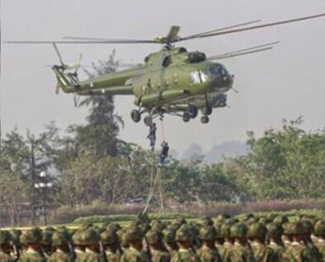 緬甸一架軍機訓練中失聯