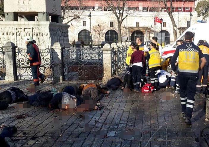 土國伊斯坦布爾旅遊中心區爆炸