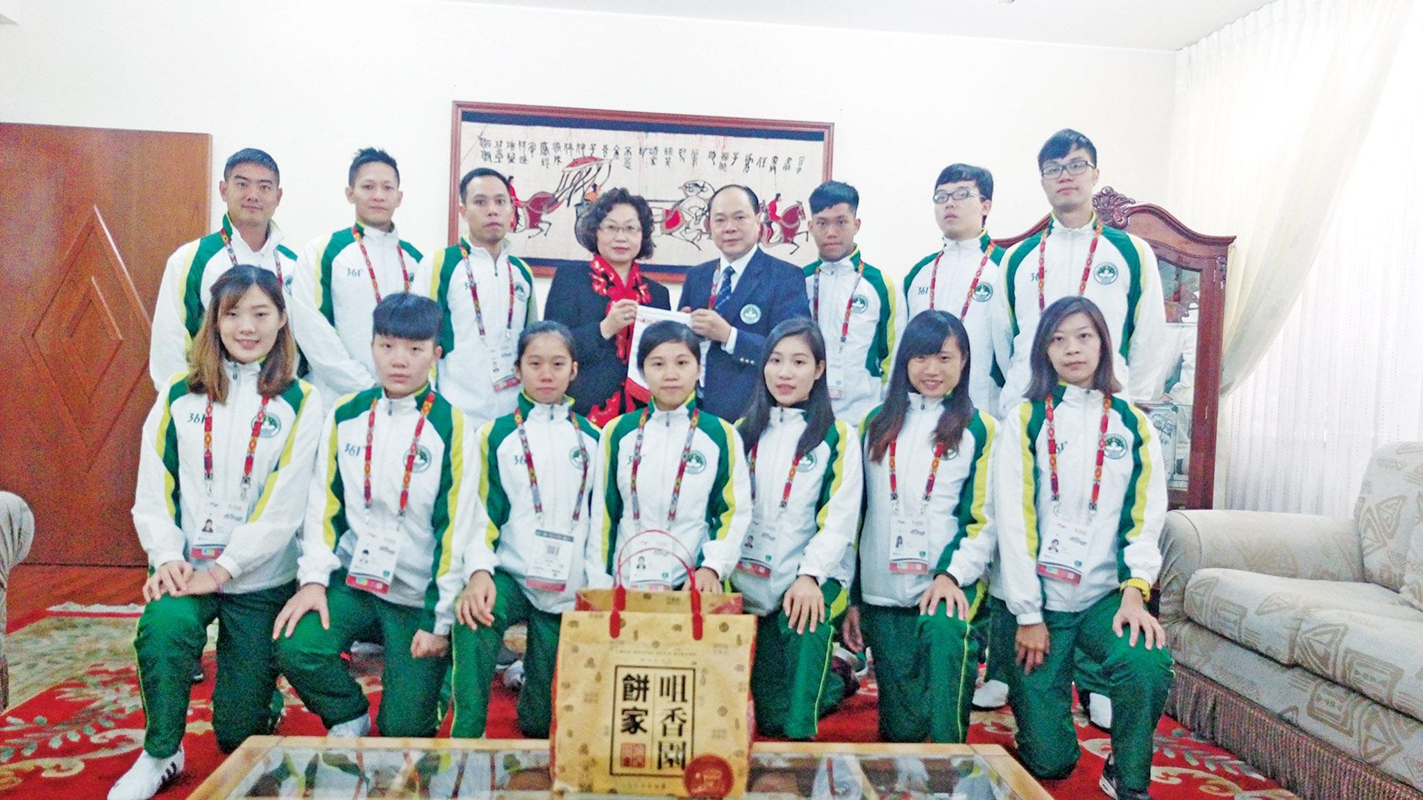 訪秘魯中國大使