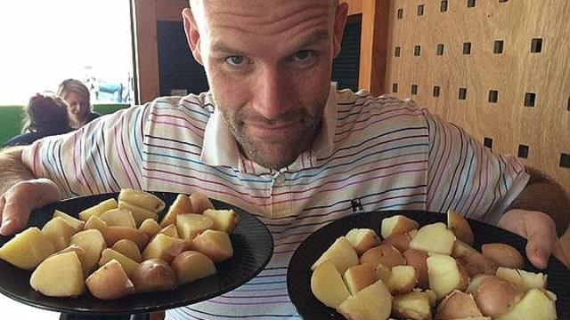一年內只吃薯仔成功減110磅