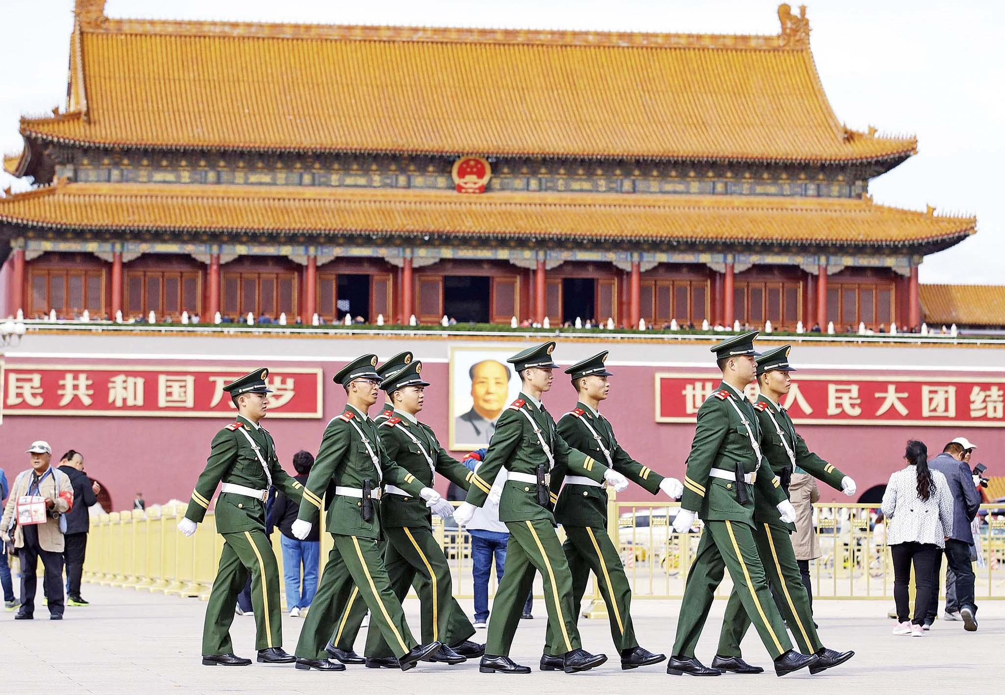 北京保安全面升級