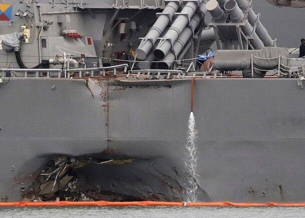 船艙內發現十失蹤水兵遺體