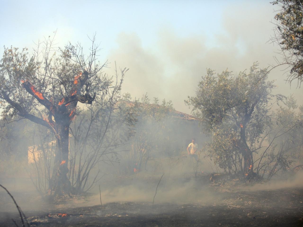 消防直升機救火失事墜毀機師亡