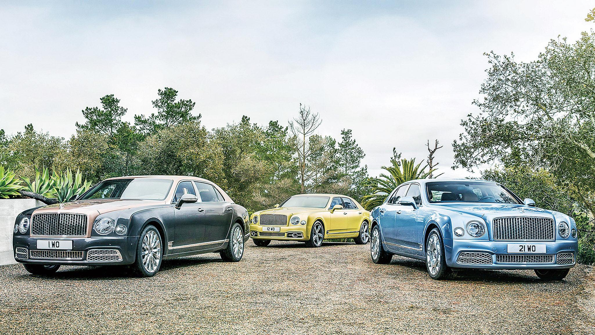 賓利發布多款新車