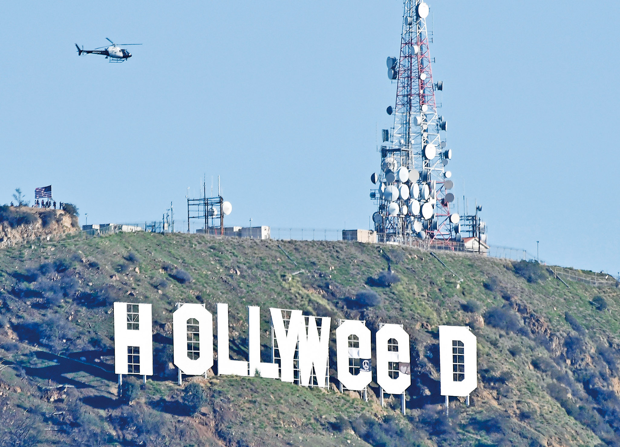 荷里活成「Hollyweed」