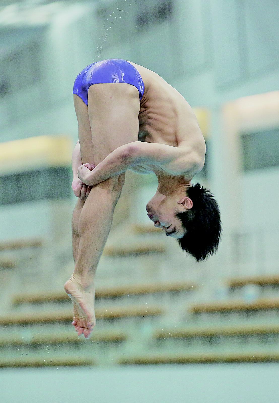 澳門跳水代表