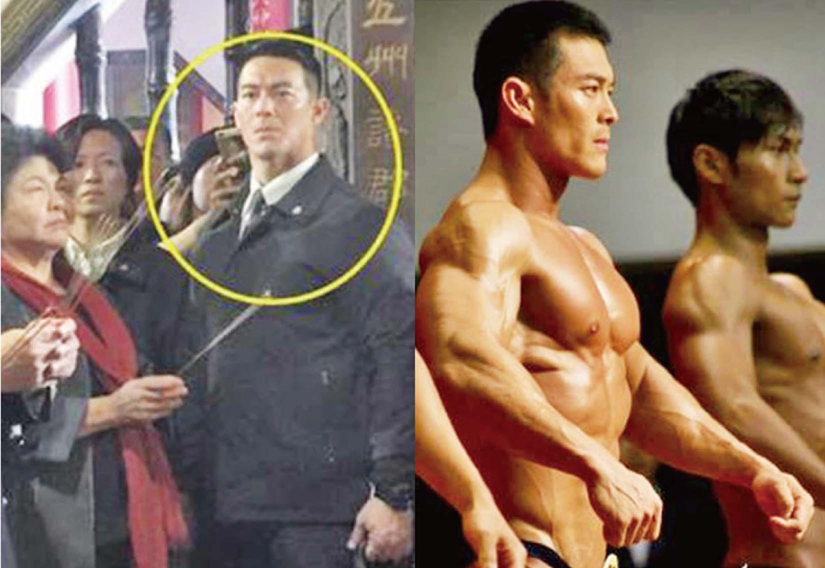 激似劉德華+吳彥祖