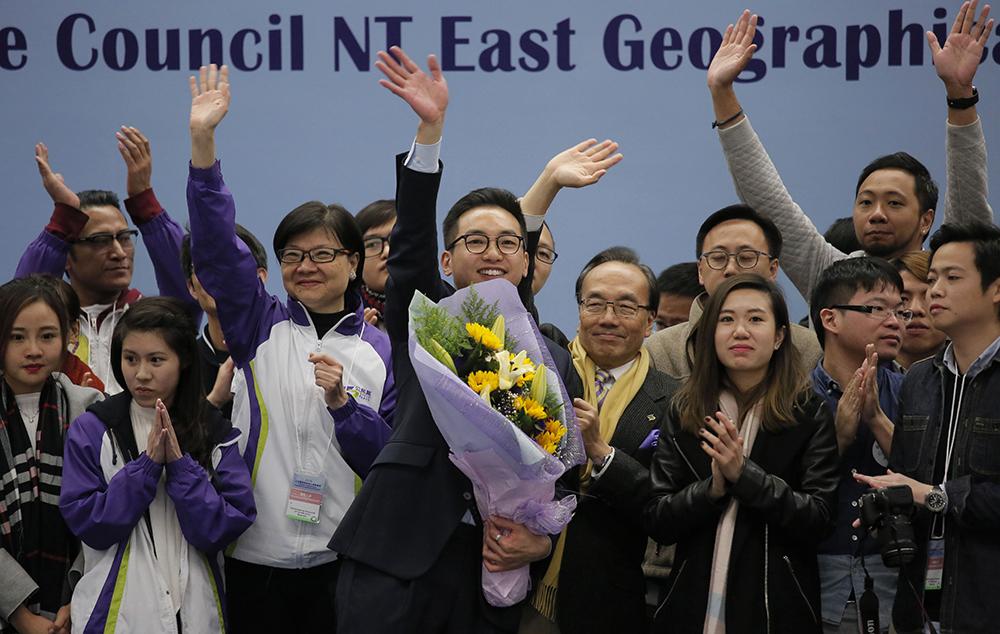 港公民黨楊岳橋新東補選勝出