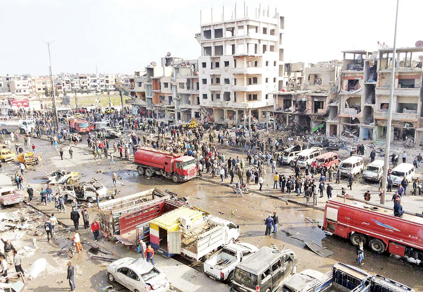 汽車炸彈釀129死
