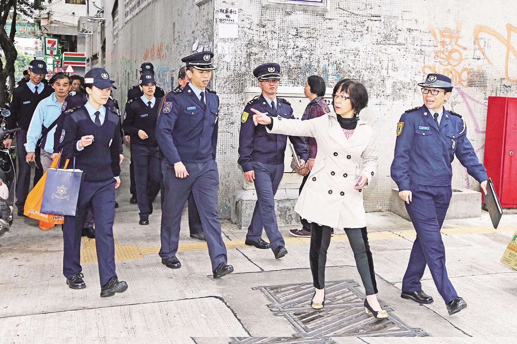 治安警巡筷子基區